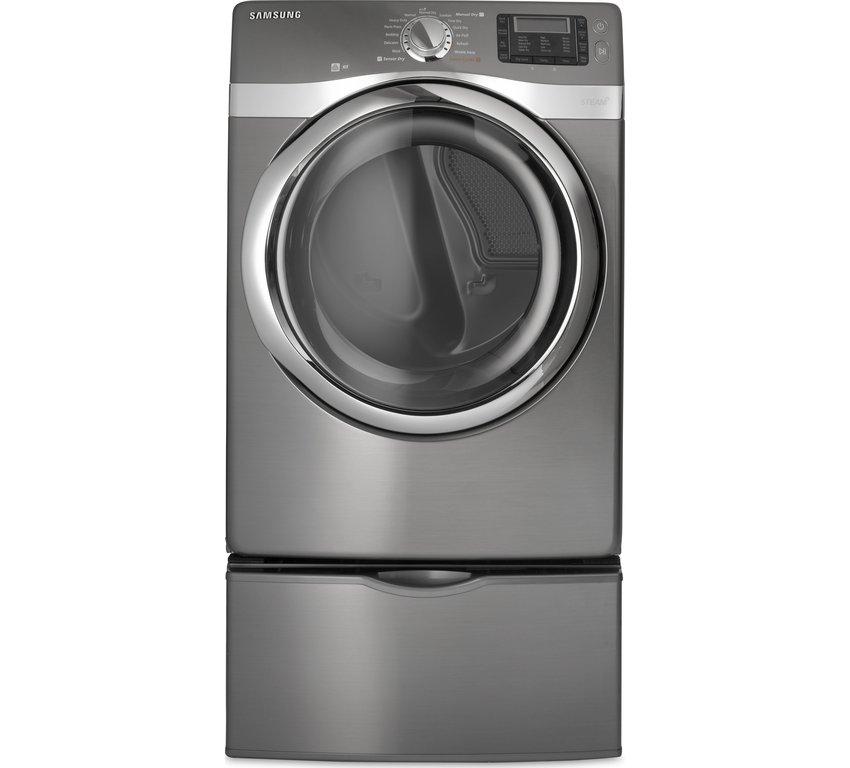 Frigidaire FASG7073LW Affinity 7.0 Cu. Ft. Gas Dryer, Classic