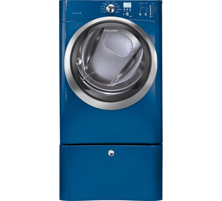 New electrolux steam washer and gas dryer w pedestals Electrolux washer and dryer